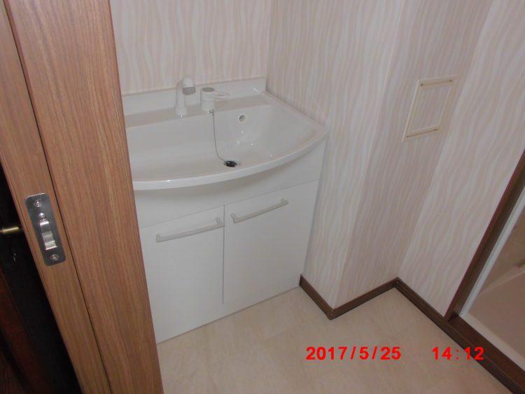 洗面台リフォーム後の写真